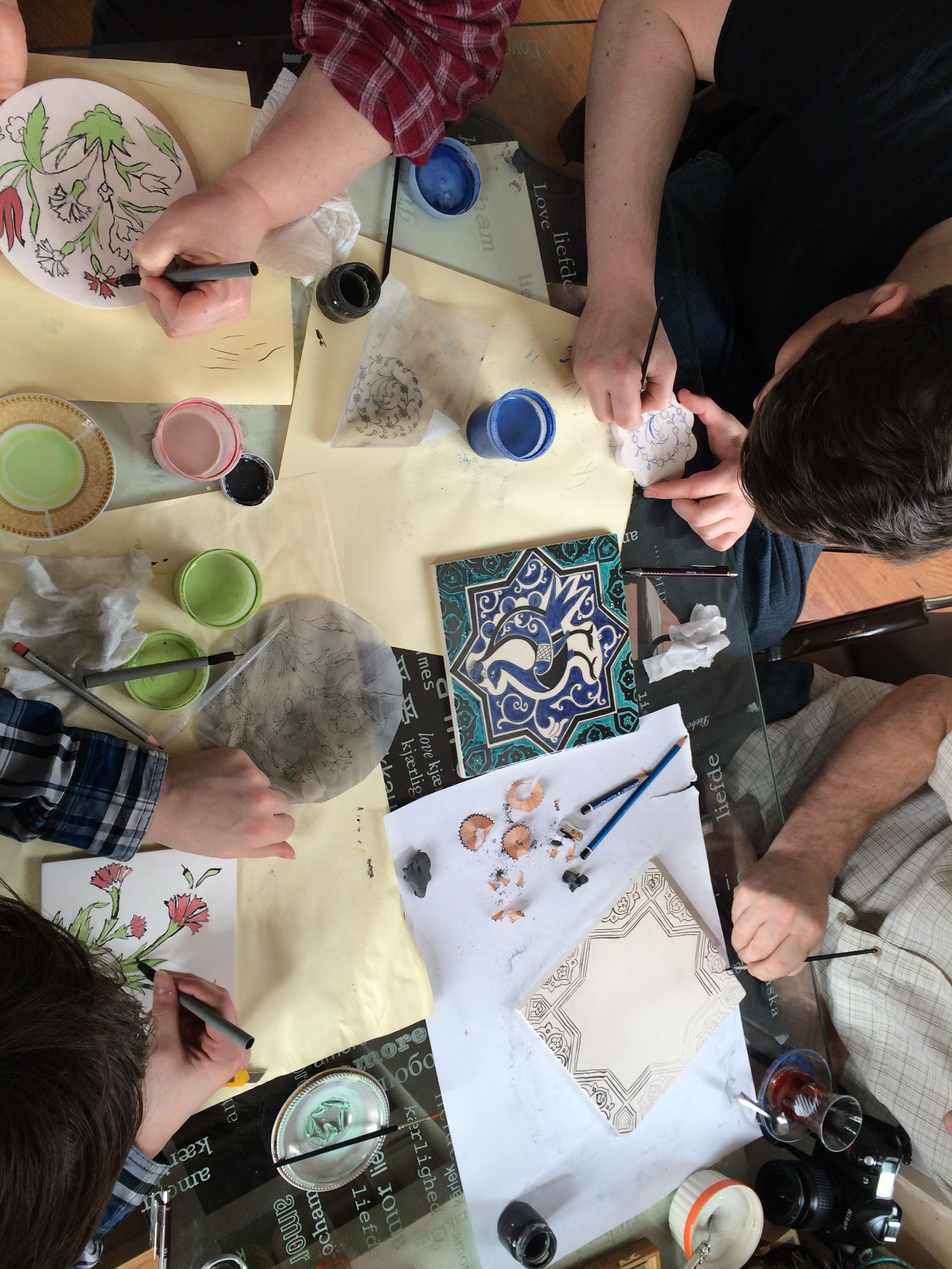 Turkish Arts Turkish Arts Workshops In Istanbul Ebru