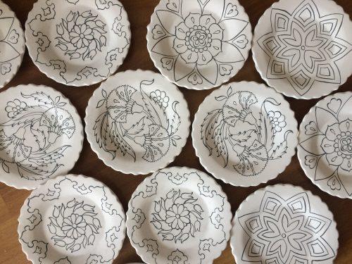 Cocuklar Icin Cini Boyama Etkinligi Turkish Arts By Betul