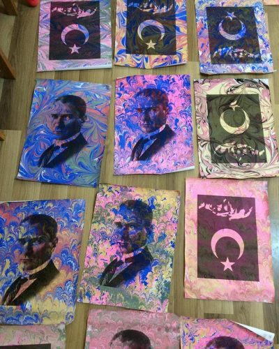 Turkish Arts By Betul Turkish Arts Workshops In Istanbul Ebru